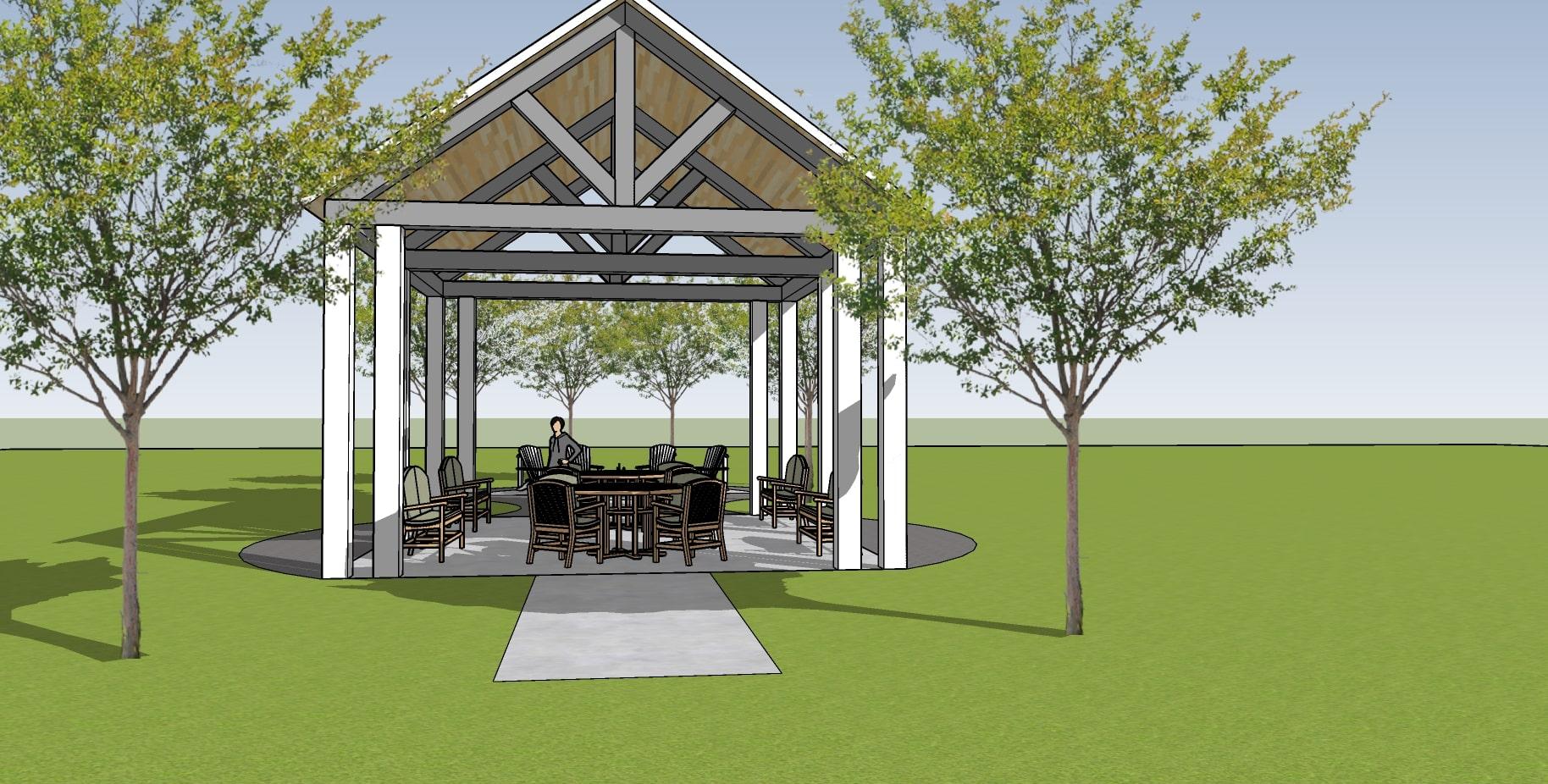 Cornerstone Pavilion Gathering Space